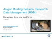 RDM Jargon Busting Session: Demystifying Commonly Used Terms