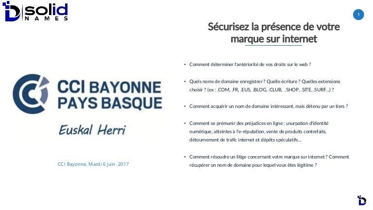 ed70108d96169 Sécurisez la présence de votre marque sur internet - CCI Bayonne