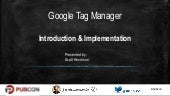 Google Tag Manager - Introduction & Implementation
