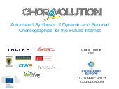 CHOReVOLUTION Project to Facilitate Cross-Organization Service Integration, Cédric Thomas, OW2 CEO at Cloud Expo Europe 2017