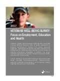 2017 Veterans Well-Being Survey