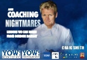 Agile Coaching Nightmares: Lessons We Can Learn From Gordon Ramsay
