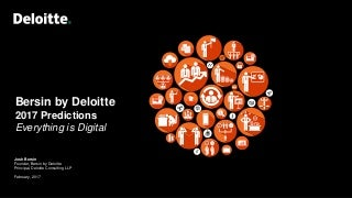 Everything Is Digital: Ten HR and Talent Predictions for 2020