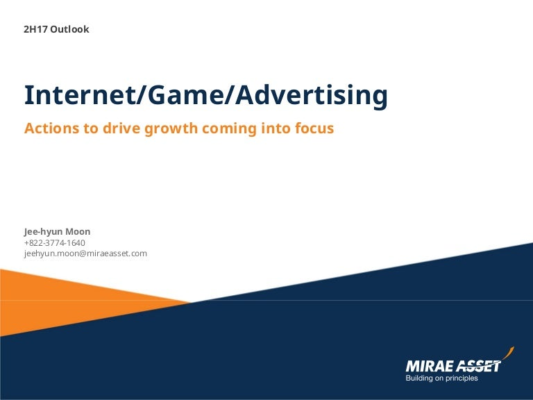2H17 Internet Game Advertising Outlook