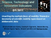 Unveiling the multiple faces of mobility: Towards a taxonomy of scientific mobility types based on bibliometric data