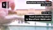 From Event Receivers to SharePoint Webhooks