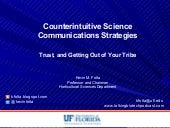 Science Communications for Science Professionals