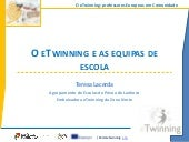 O eTwinning e as equipas de escola
