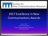 The Conference Board's 2017 Excellence in New Communications Awards