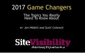 2017 Game Changers - The Topics You Really Need To Know About