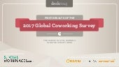 First results of the 2017 Global Coworking Survey