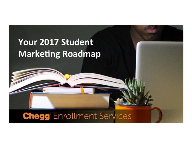 Your 2017 Student Marketing Roadmap
