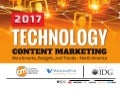 Technology Content Marketing 2017 - Benchmarks, Budgets & Trends - North America