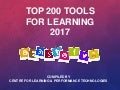 Top 100 Tools for Learning 2017
