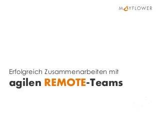 OOP 2018: Erfolgreich Zusammenarbeiten mit agilen Remote-Teams