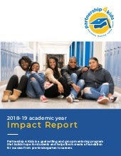 Partnership 4 Kids 2018-19 Impact Report