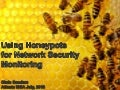 2018 - Using Honeypots for Network Security Monitoring