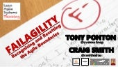 FailAgility: Recognising and Resetting the Agile Boundaries