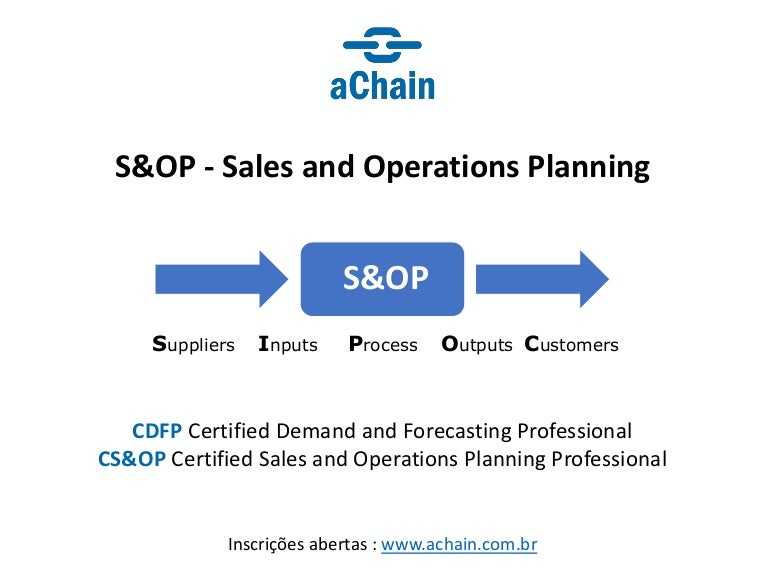 demanda e forecast  cdfp   sales and operations planning