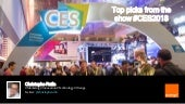 Top Picks CES 2018 Consumer Electronics & Digital Media Innovation