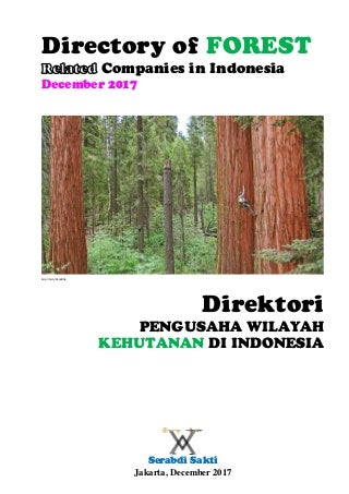 Directory of FOREST-related Companies in Indonesia, Dec. 2017