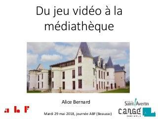 Du jeu vidéo à la médiathèque de Saint-Avertin