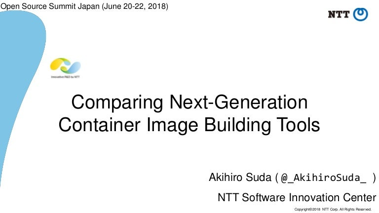 Comparing Next-Generation Container Image Building Tools