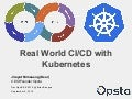 Real World CI/CD with Kubernetes