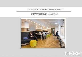 CBRE - marseille - catalogue coworking