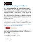 2018 mobile operating system market