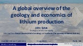 A global overview of the geology and economics of lithium production