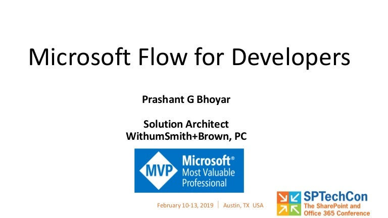 Microsoft Flow For Developers