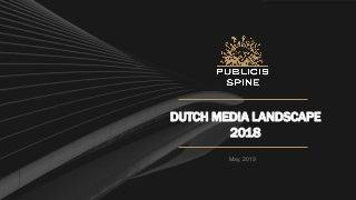 Dutch Media Landscape 2018 by Publicis Spine