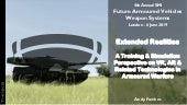 Future Armoured Vehicles Weapon Systems - Extended Realities