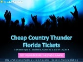 Cheapest Country Thunder Florida Tickets