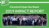 2019 Cleantech Open Northeast Impact Report