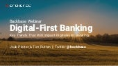 2019 outlook : 3 key trends that will impact digital-first banking