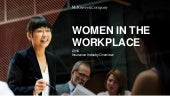 Women in the Workplace: Travelers Conference presentation April 2019