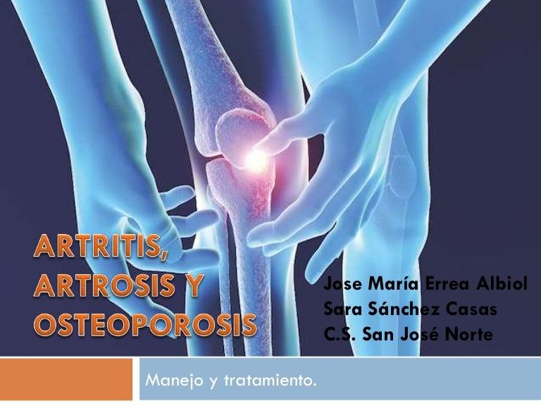 artrosis y anestesico dental