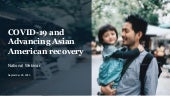 COVID 19 and Advancing Asian American Recover