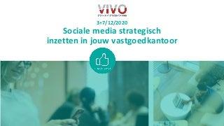 20201203 VIVO Sociale media in jouw vastgoedkantoor