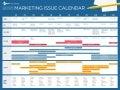2021 marketing issue calendar