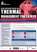 International Conference Thermal Management for EV/HEV