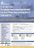 Strategisches Produktionsmanagement in der Pharmazeutischen Industrie