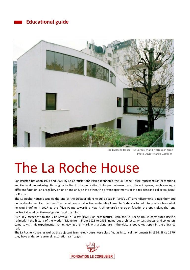 Maison La Roche Corbusier Paris architectural