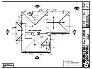 A4 - Hallmark.Roof Plan