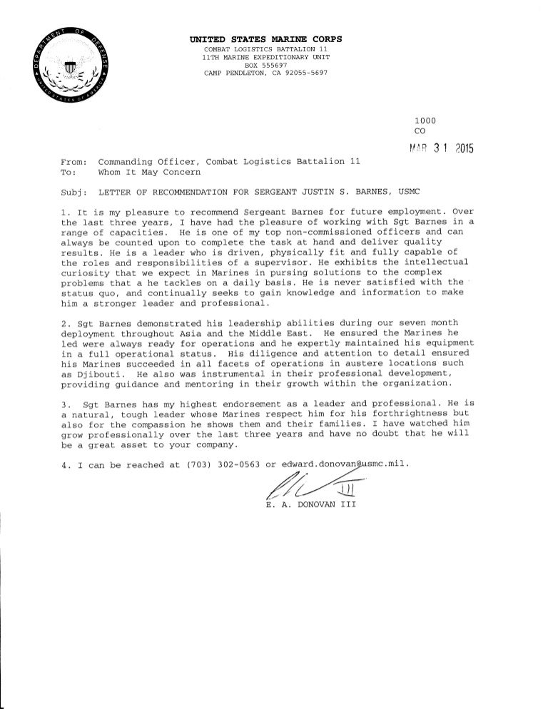 Marine corps letter of recommendation selol ink marine corps letter of recommendation spiritdancerdesigns Choice Image