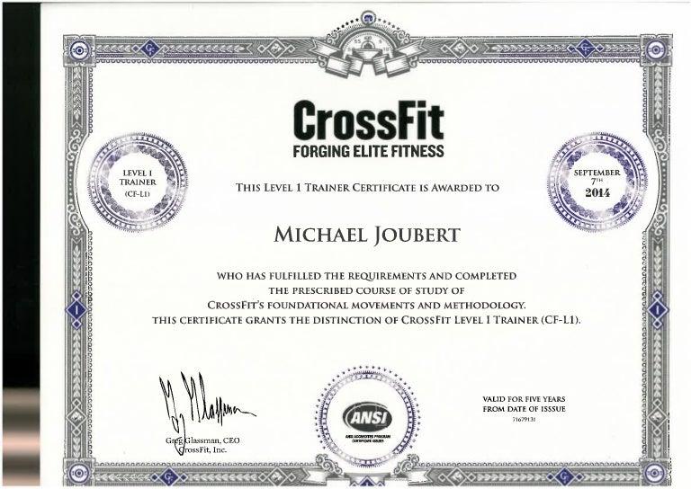crossfit certificate level trainer slideshare upcoming
