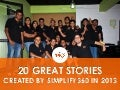 20 Great Stories Created By Simplify360 In 2013