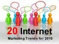 20 internet marketing trend 2010